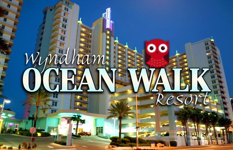 Ocean Walk Resort ツ 2BR/2BA Wyndham Equipped - Daytona Beach - Apartment