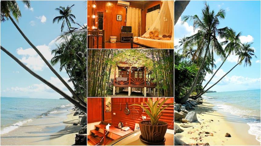 Lovely & cozy hideaway beach house - Ko Samui - House
