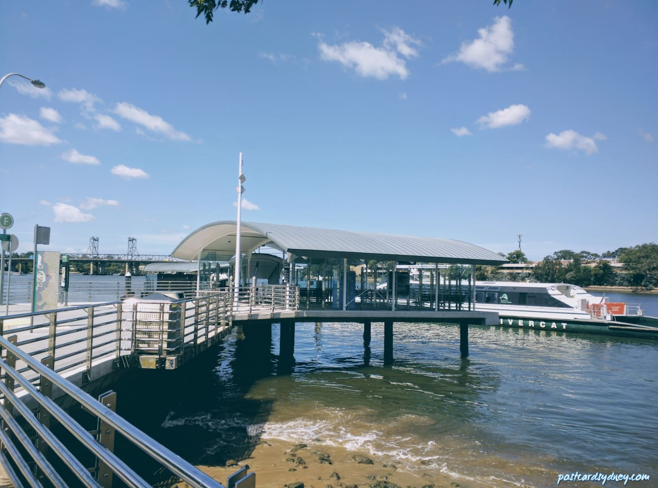 Meadowbank Ferry and park