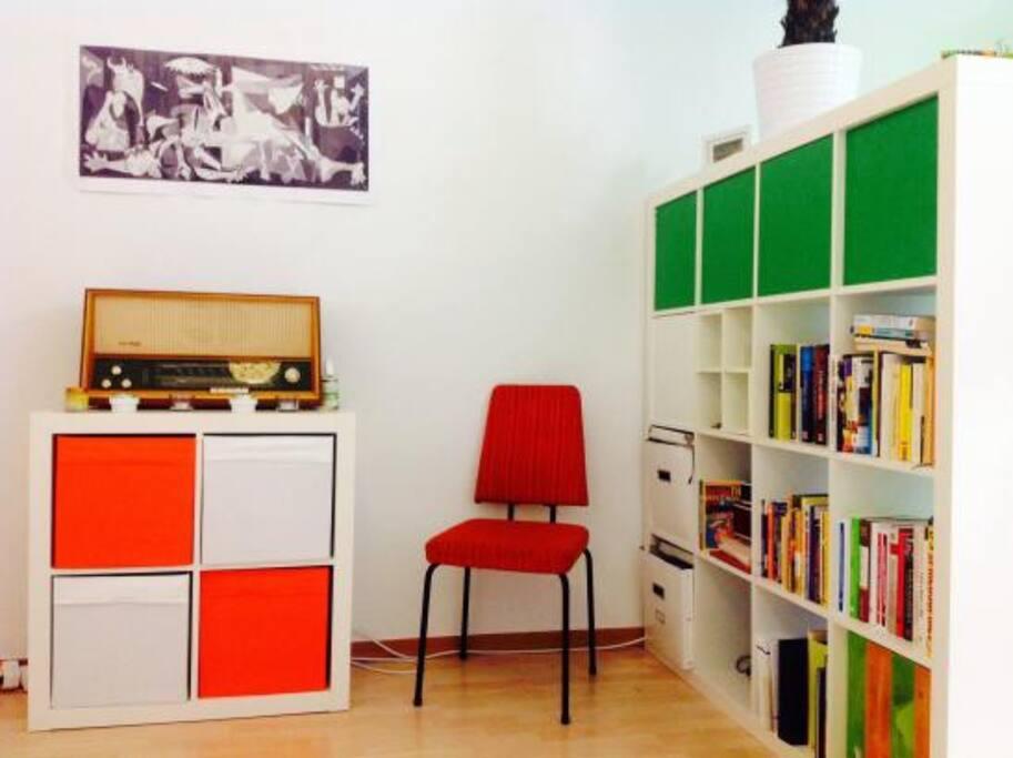 Wohnzimmer - Farben machen glücklich