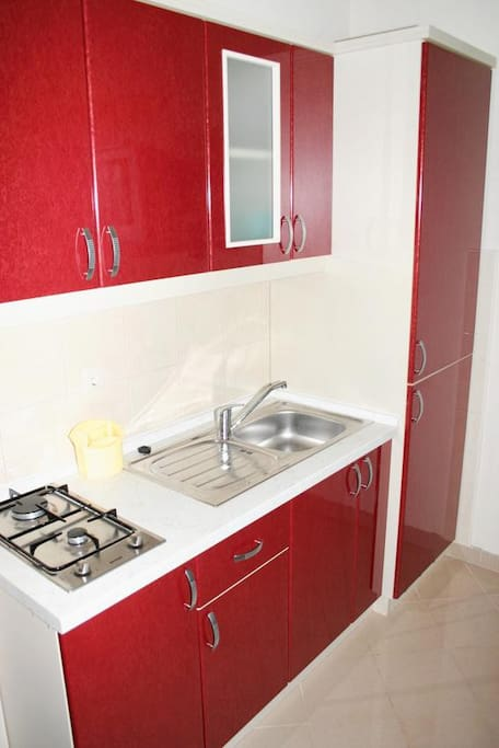 Kitchen, Surface: 3 m²