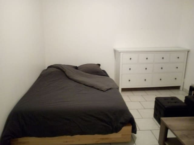 Appartement 1 chambre 2 places