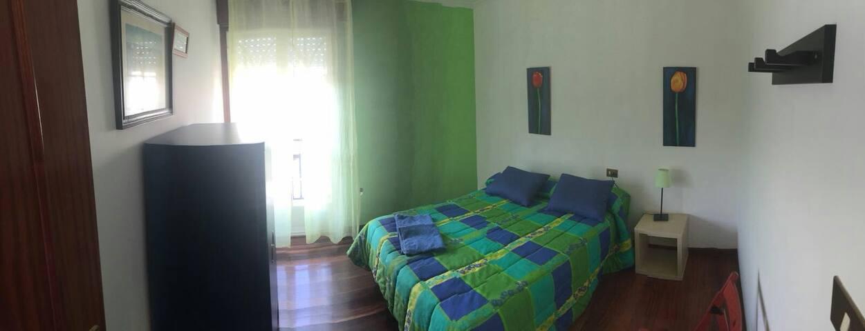 Habitación dobre en A Casa da Herba (1 cama doble)