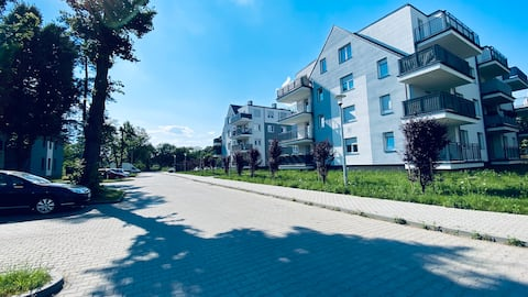 Apartament Dleux 6 Legnica 2 sypialnie + parking