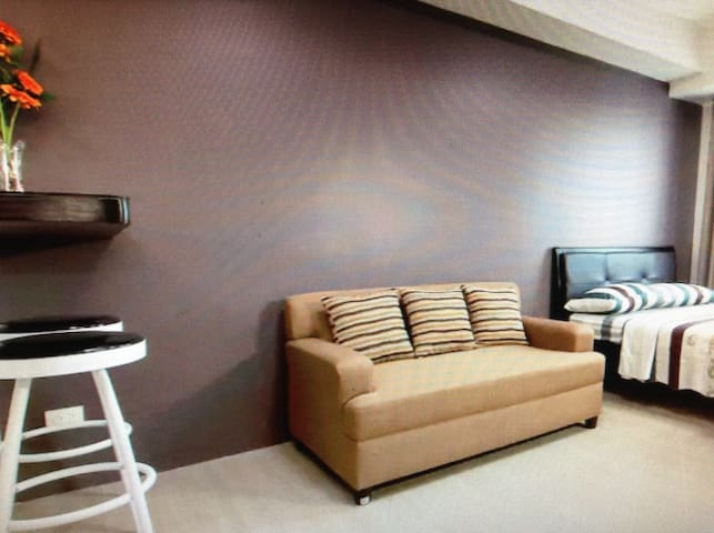 Fully furnished.studio type condo - San Mateo - Huoneisto