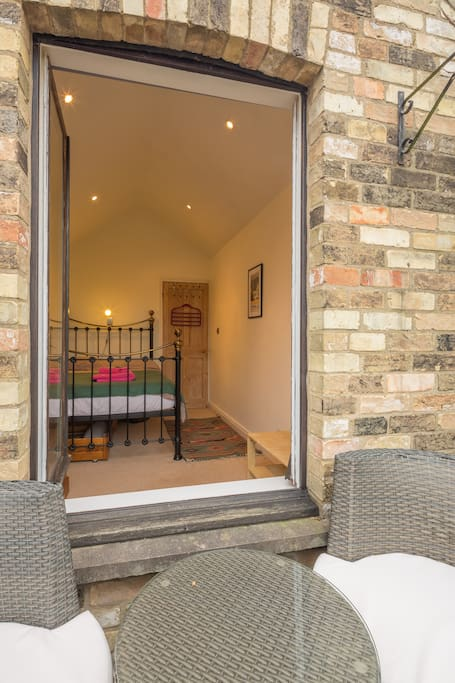 Double doors open onto your private balcony - great for relaxing in the summer