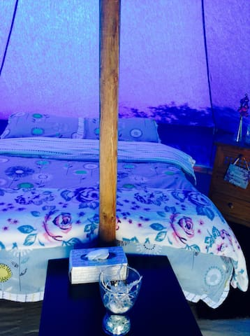 Andalucian  Glamping 5m Bell Tent Teal - Álora