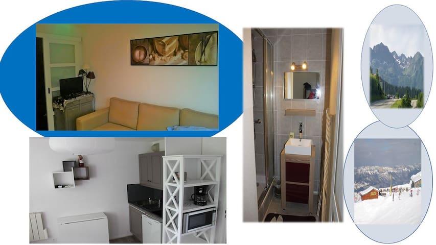 Appartement montagne à Prapoutel - Les Adrets - Huoneisto