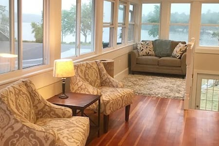 Newly Renovated Two Bedroom Overlooking Long Lake