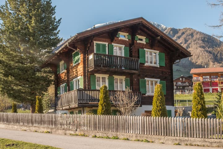 Chalet Reckholder - Top valley view