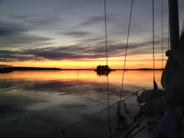 Sailing boat - Loviisa - Łódź