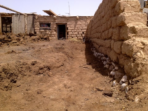 Nomadic Sheep Farm House near At-Bashy.
