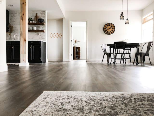 Modern Farmhouse Design + Private Guest Suite