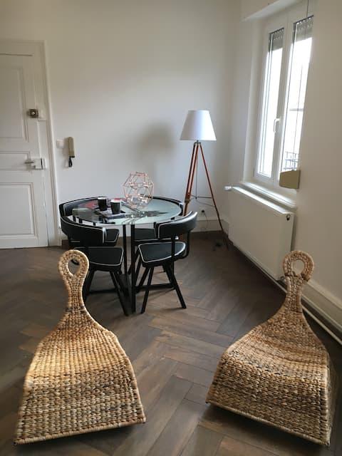 Bel appartement 2 pièces, Strasbourg Sud