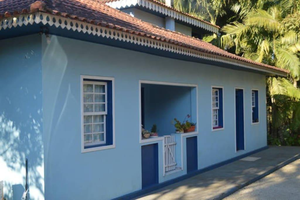 Casa construída por nosso avô em 1967