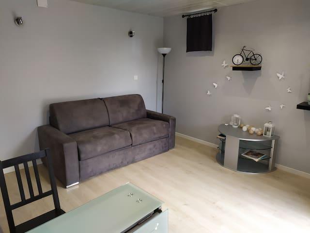 Studio meublé indépendant 2
