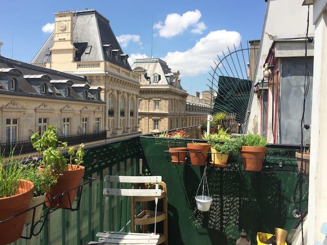 Charmant appartement lumineux au coeur de Paris
