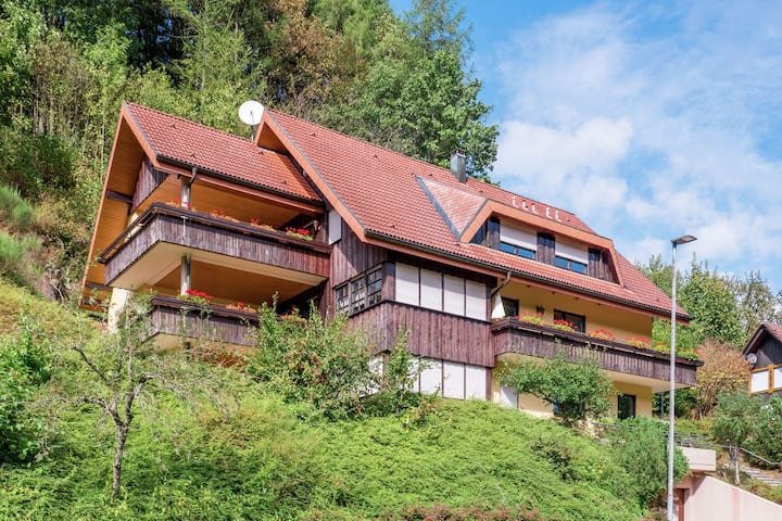 Cosy, small apartment in the Black Forest with private terrace