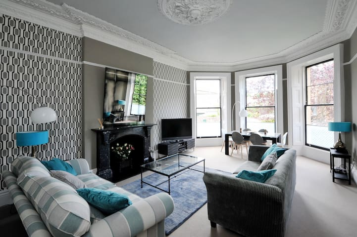 Stunning Clifton Apartment with Private Parking - Bristol - Appartement
