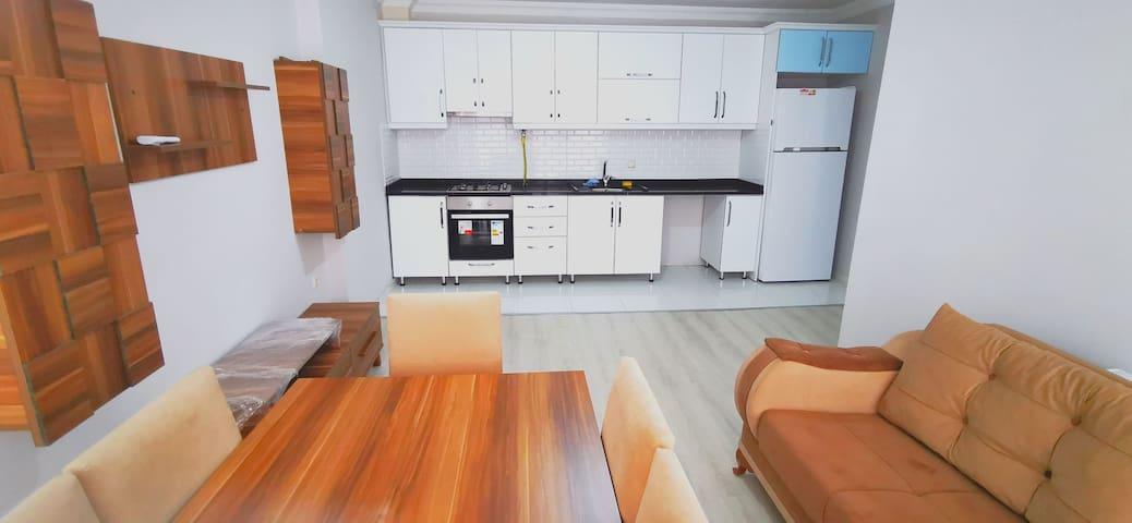 N02 شقة عائلية صغيرة بالقرب من البحر