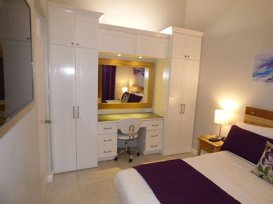 Bedroom Closets, Desk