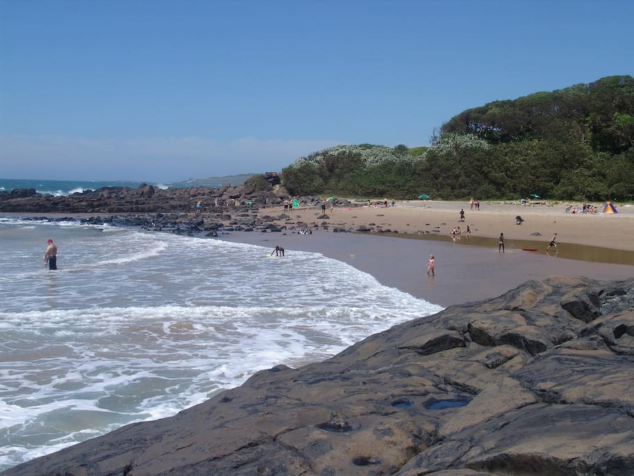 Lovely big beaches for the family to swim or bodyboard!