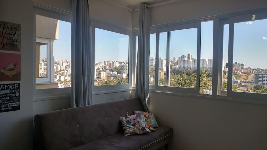 Lindo apartamento novo na Capital do Vinho