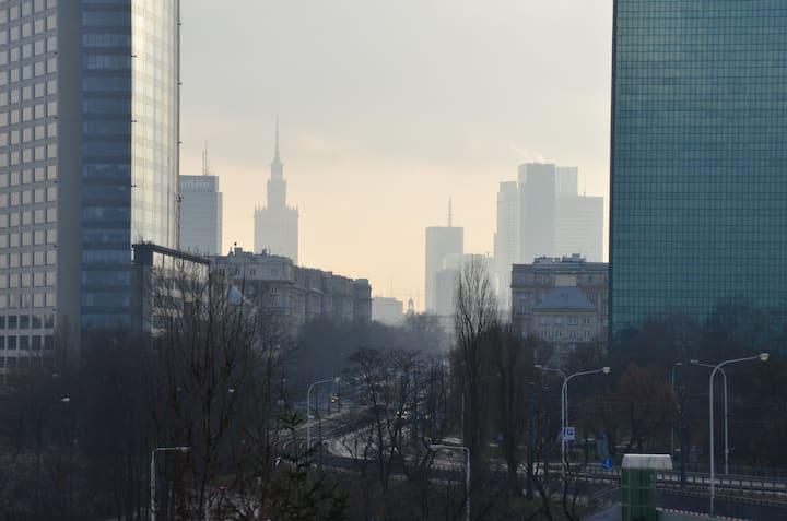 Warsaw Skyline Apartment