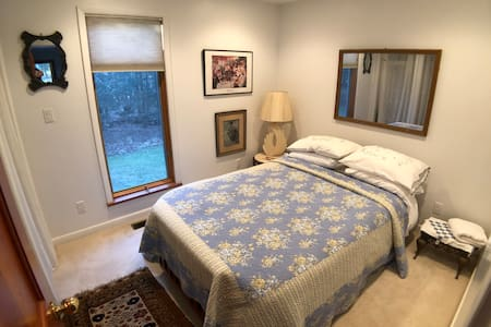 The Chiesa's: Full-Sized Bedroom Downstairs