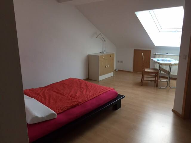 Ruhiges Gästezimmer / Restfully guest room 25qm - Vellmar - Apartment