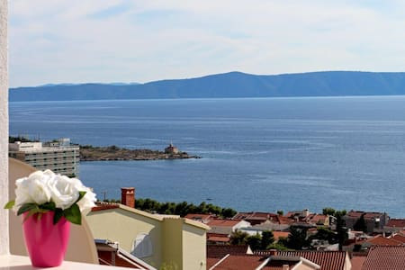 Brand new studio -sea view terrace! - Makarska - Wohnung