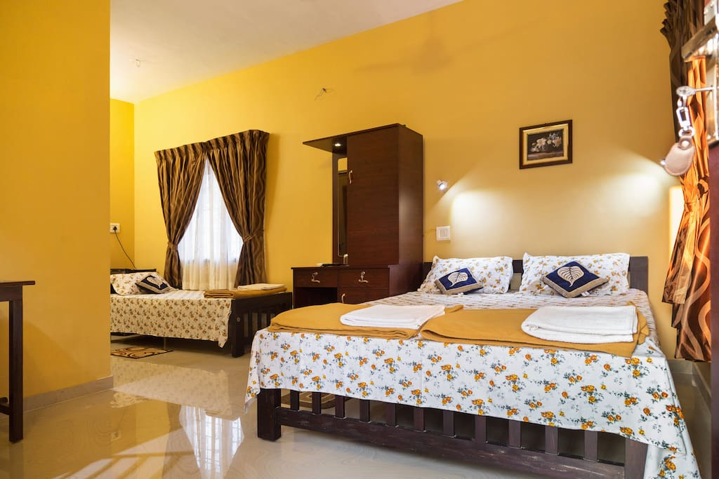 Quite comfortable garden homestay fort kochi chambres for Chambre kochi