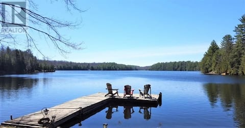 Waterfront cottage on beautiful East Moore lake!!