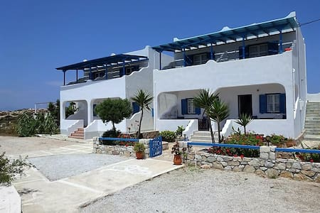 Zykladische Wohnung mit Blick und Strandnaehe - Donoussa