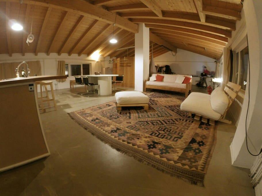 Area salotto - relax