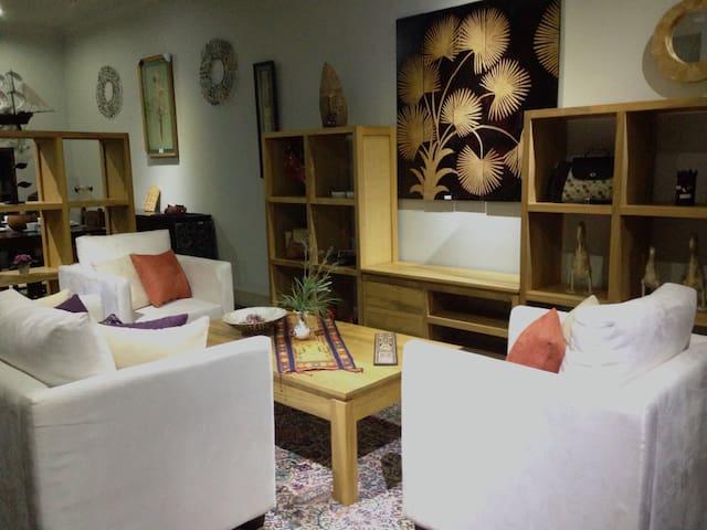 Downstair displays