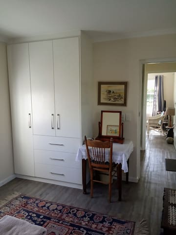 Bedroom cupboard and dressing table