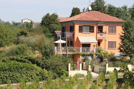 B&B-kamer in Villa I Due Padroni - Montecalvo Versiggia - Bed & Breakfast