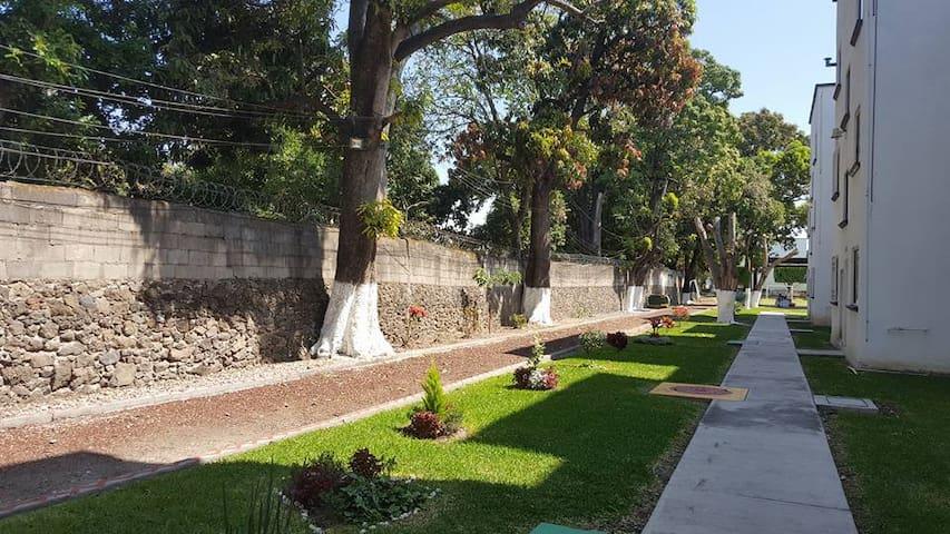 Hermoso  Departamento de Descanso amoblado - Yautepec - Byt