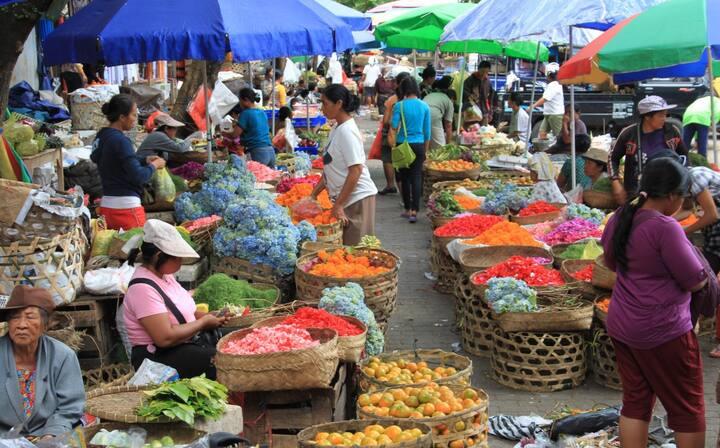 Gianyar farmer market