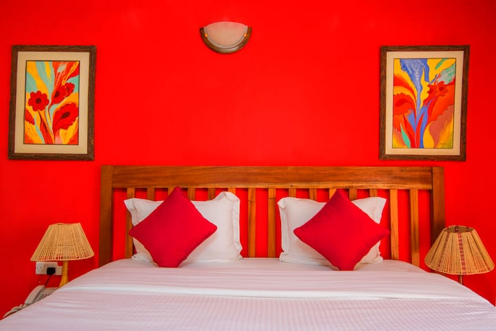 Standard hotel room at Leon Villas Guesthouse