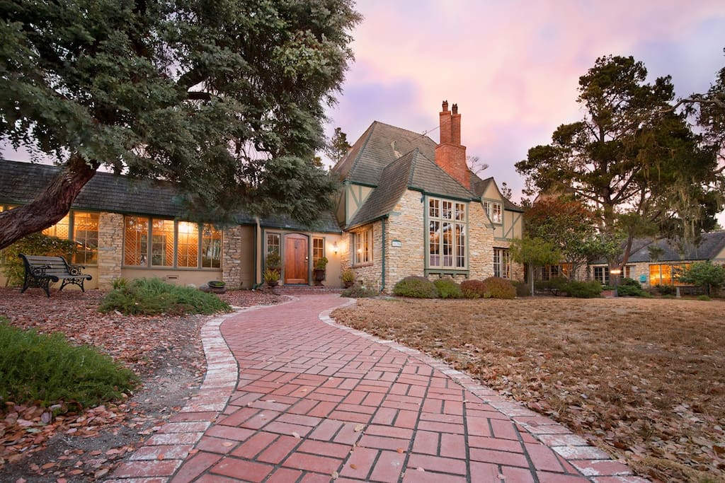 Greystone Manor is located atop the sunny Pine Knolls community in Cambria, California.