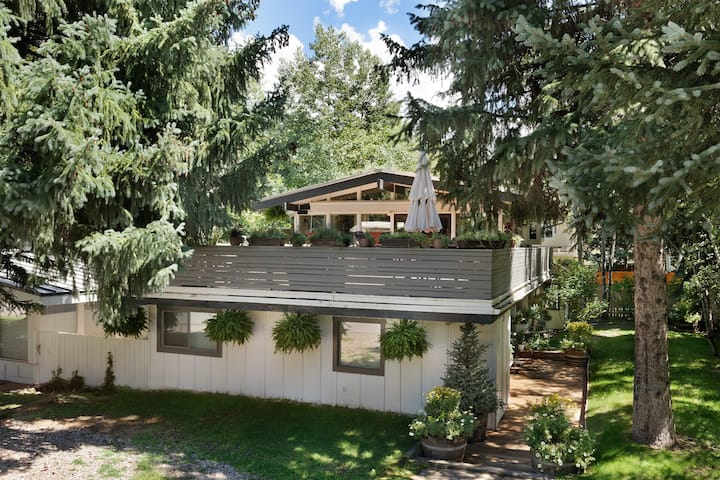 Charming 3 bedroom + large deck in the West End