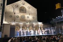 Balletto in Piazza Duomo
