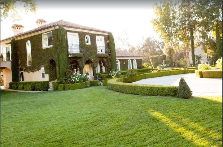 Italian Villa between Santa Barbara / Los Angeles