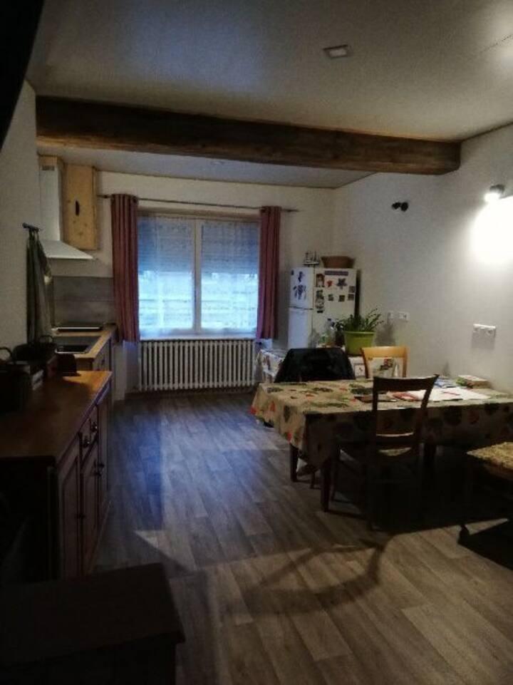 Appartement renové Centre Ville de Louhans
