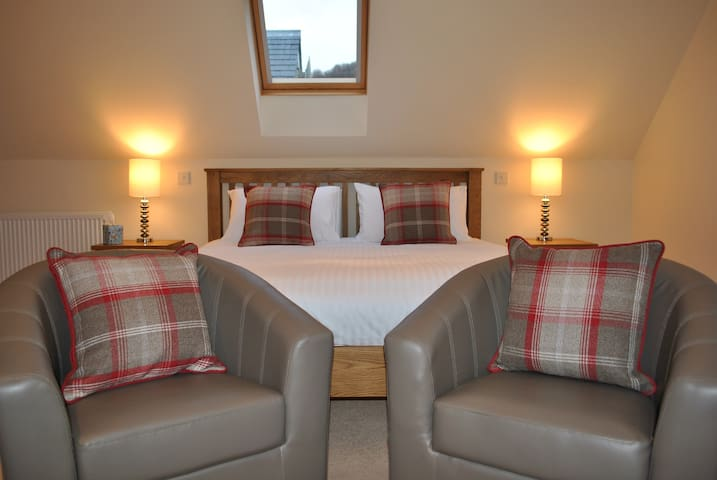 Orchard House Room 1 (super-king bed)