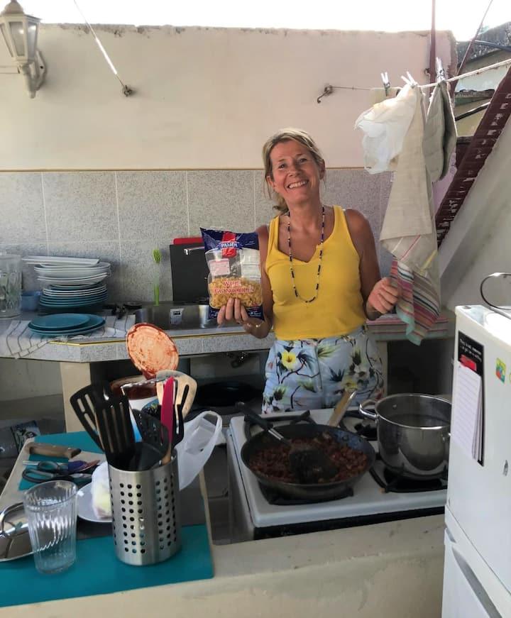 NIni's outdoor kitchen