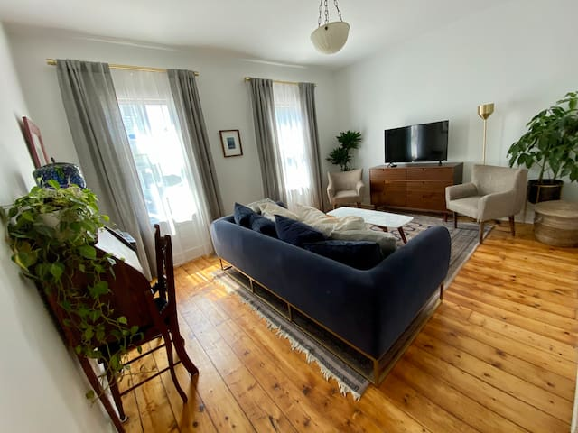 Newly Renovated Apt. Mins from Warren St.