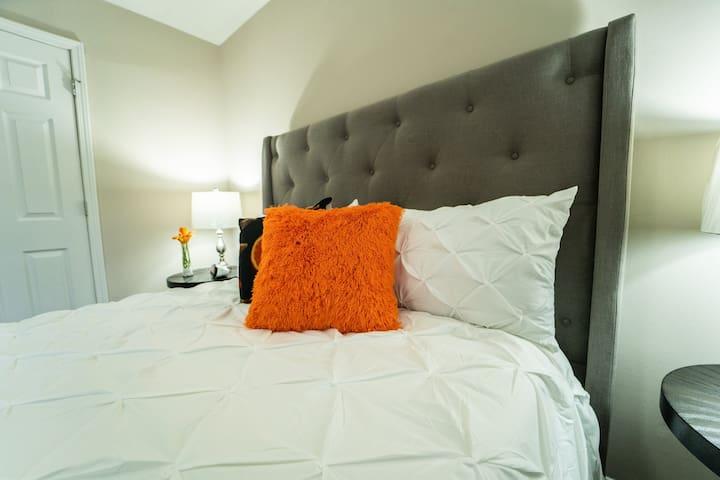 Master Bedroom up-close